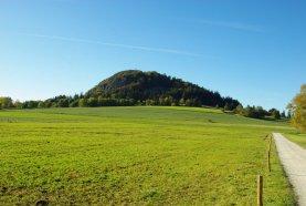 Milseburg an einem sonnigen Herbsttag